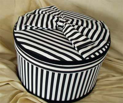 Hat Box Black and Whit...